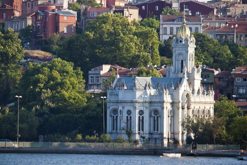 kyrklig istanbul st stephen arkivfoto