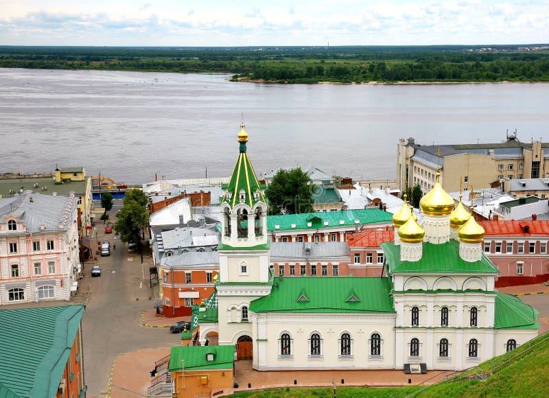 kyrklig john nativityNizhny Novgorod precursor arkivbild