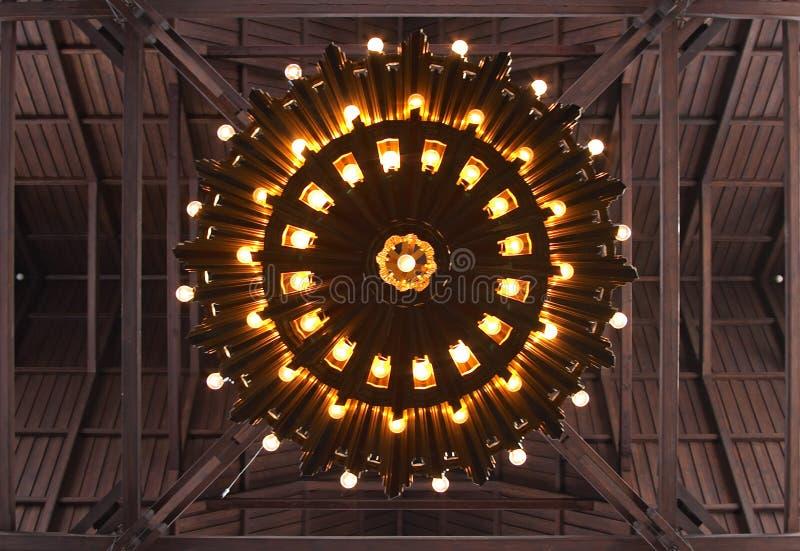 kyrklig kiruna lampa royaltyfria foton