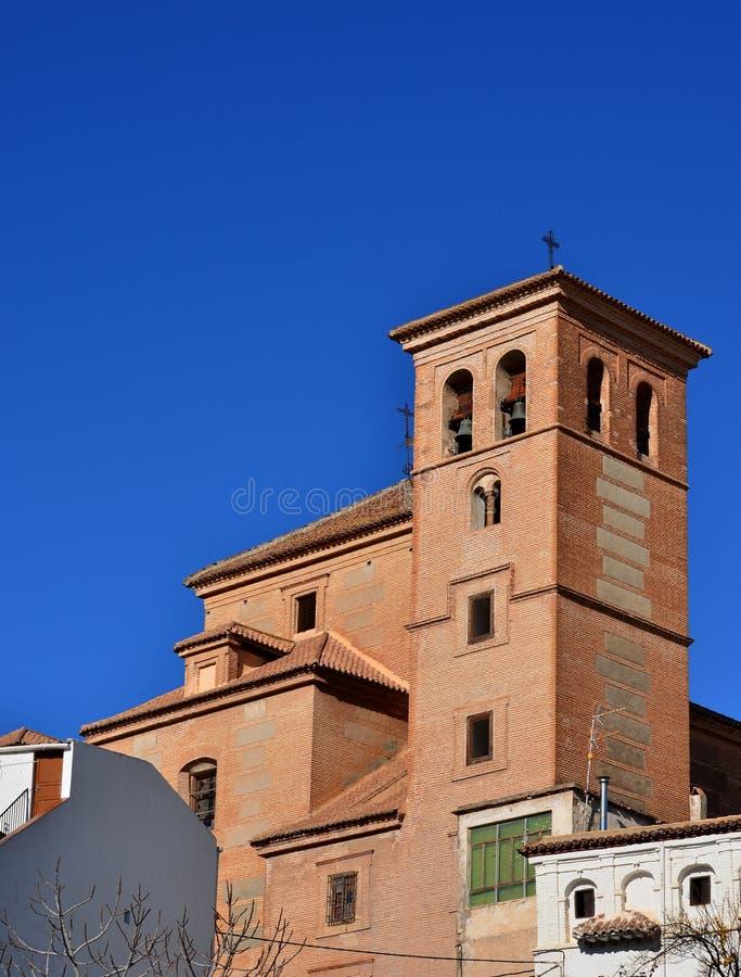 kyrklig lantlig spanjor royaltyfri bild