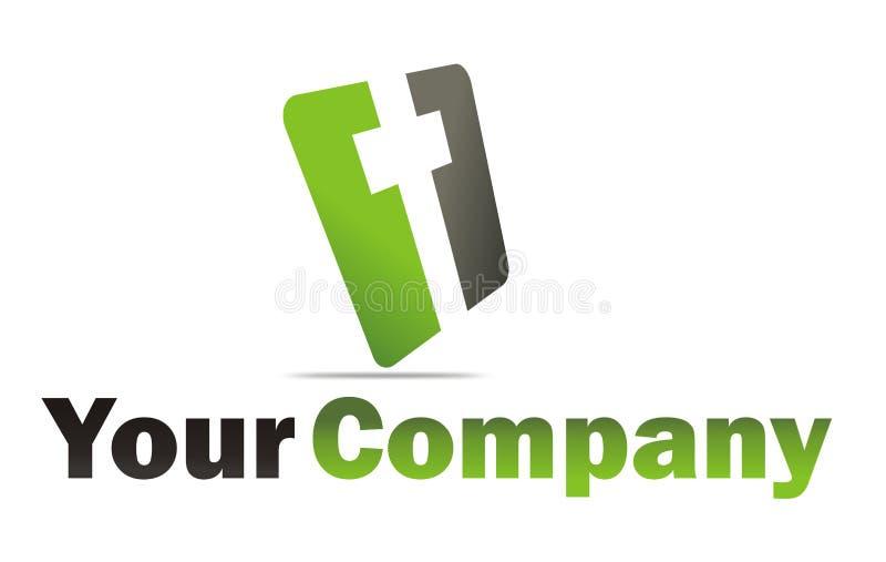 kyrklig logo stock illustrationer
