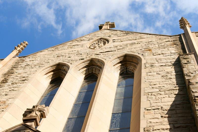 kyrklig lord vår montreal för uppstigning arkivbilder