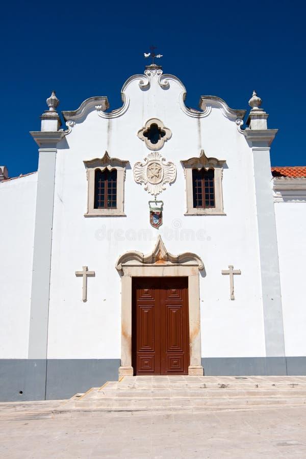 kyrklig loule portugal royaltyfria bilder