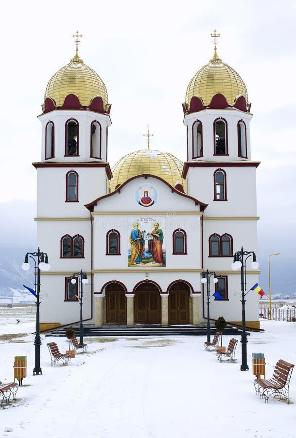 kyrklig ortodox romanian arkivfoto