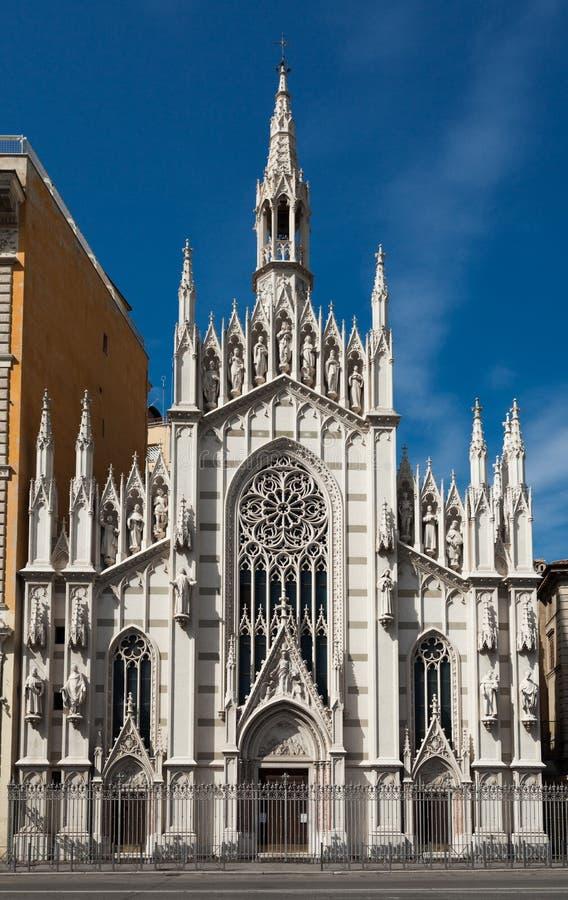 Kyrklig Parr Sacro Cuore del Suffragio royaltyfria foton