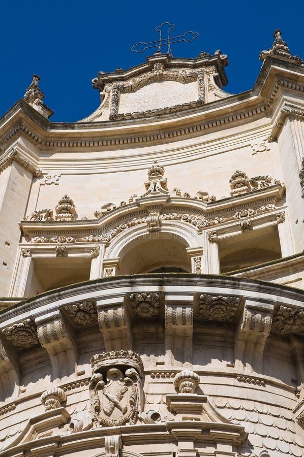 kyrklig puglia för italy leccematteo st royaltyfri bild