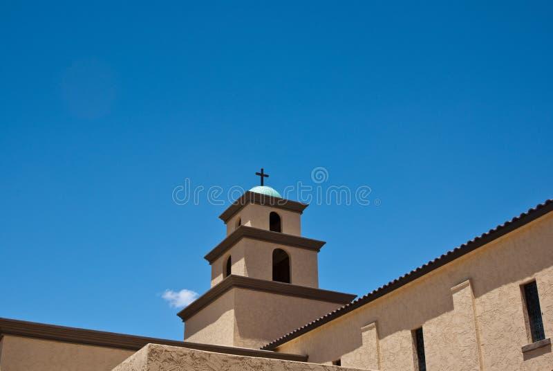 kyrklig rooftop arkivbild