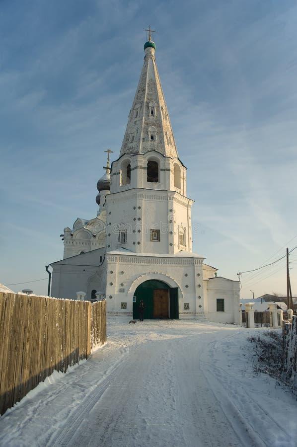 kyrklig russia för balakhna spasskaya arkivbild