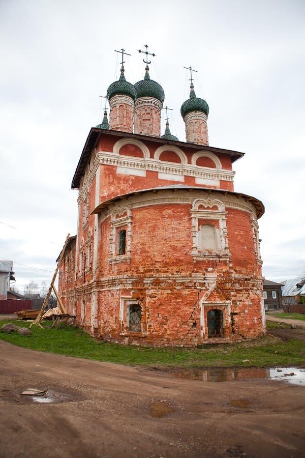 kyrklig russia uglich royaltyfria foton