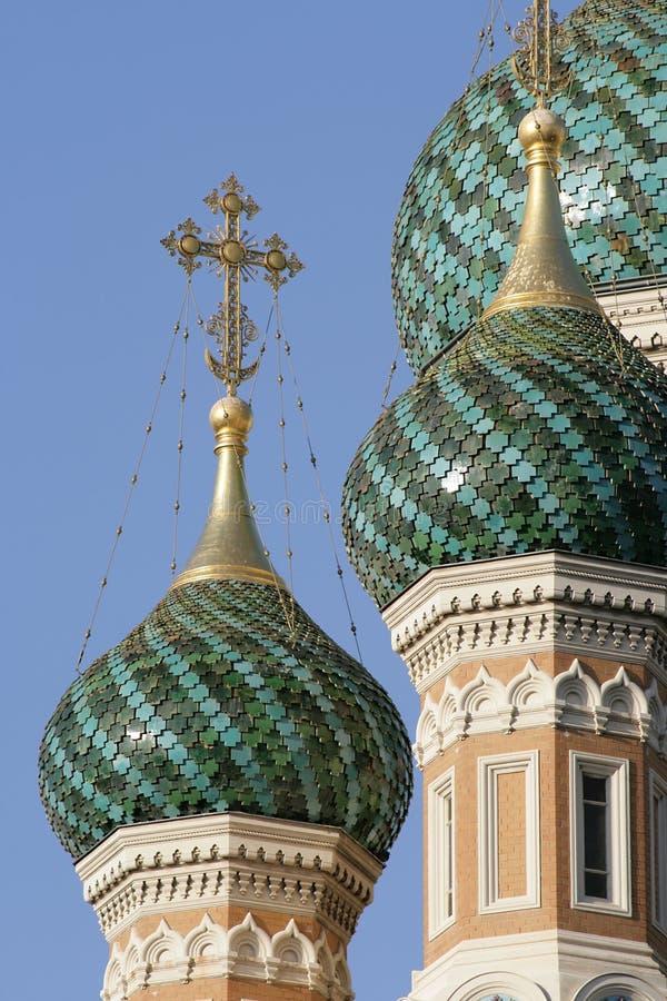 kyrklig ryss royaltyfri fotografi