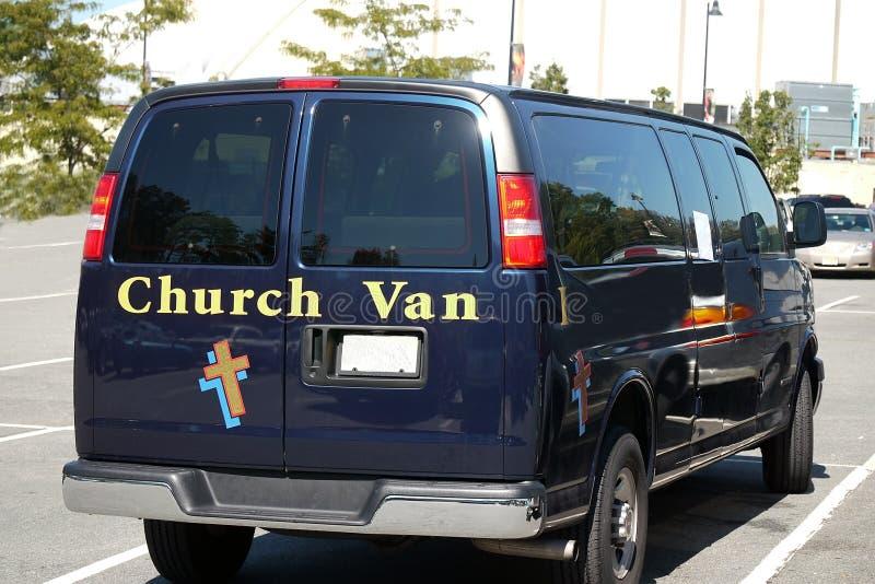 kyrklig skåpbil royaltyfri bild