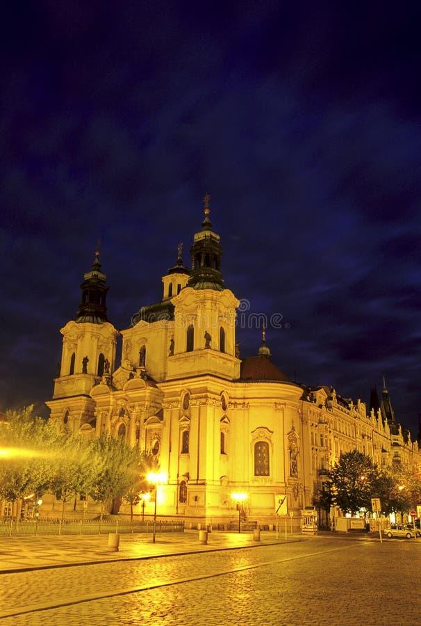 kyrklig tjeckisk prague republik royaltyfria foton