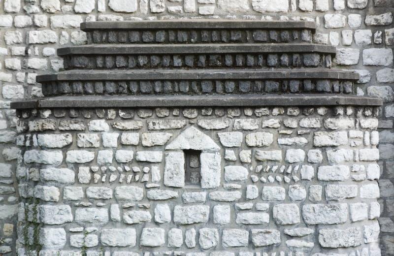 kyrklig vägg royaltyfri foto