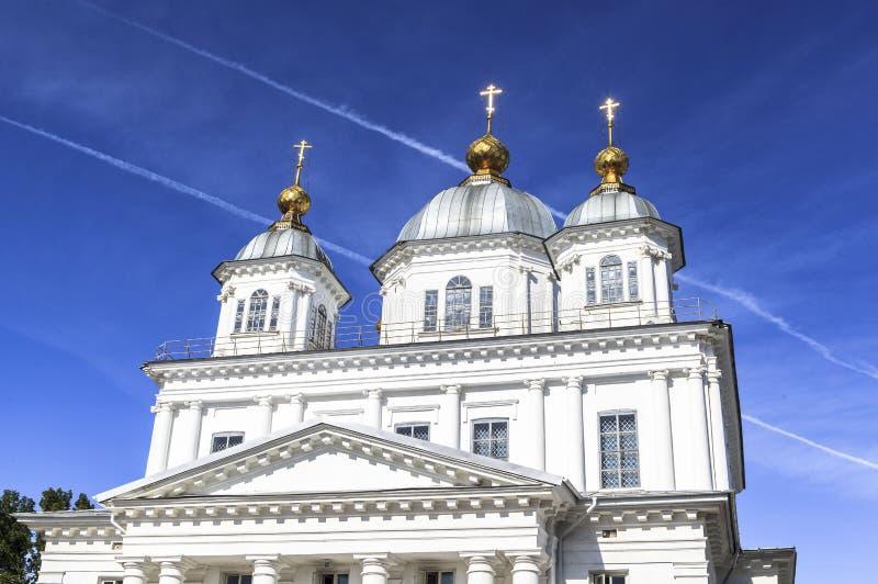 kyrklig yaroslavl royaltyfria foton