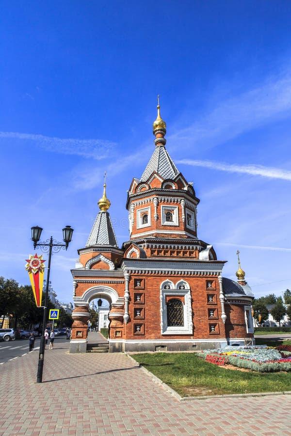 kyrklig yaroslavl royaltyfri foto