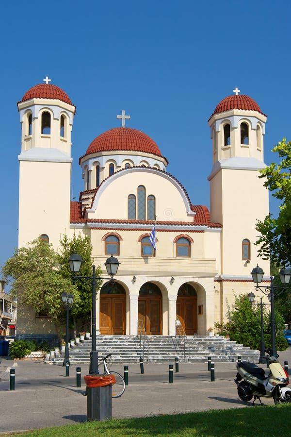 kyrkliga crete fyra martyr fotografering för bildbyråer