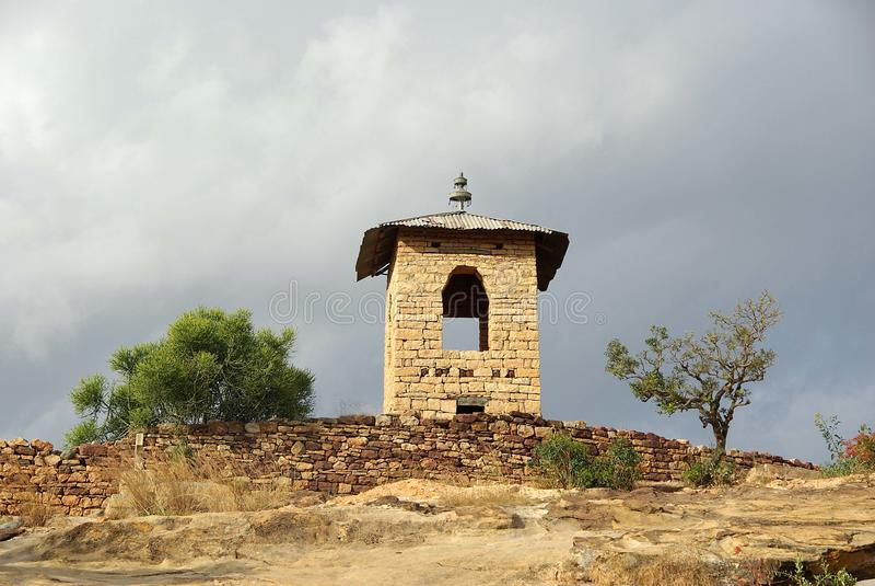 kyrkliga ethiopia royaltyfri foto