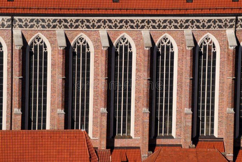 kyrkliga fönster arkivfoton