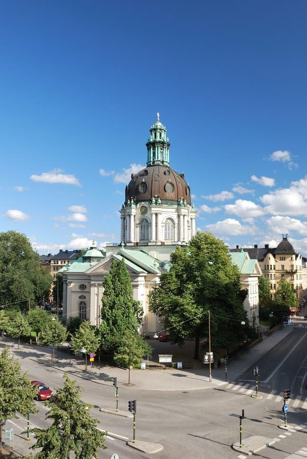 kyrkliga gustav stockholm vasa arkivfoton