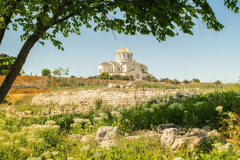 Kyrkliga Hersonissos royaltyfri foto