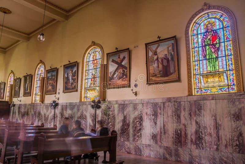 Kyrkliga Itatiba Sao Paulo arkivfoto