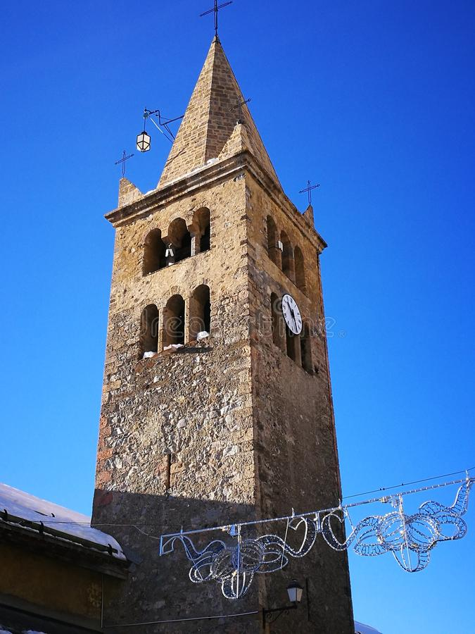 Kyrkliga klockor royaltyfri foto