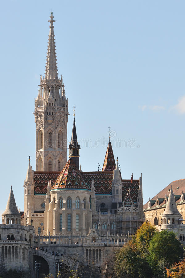 kyrkliga matthias royaltyfria bilder