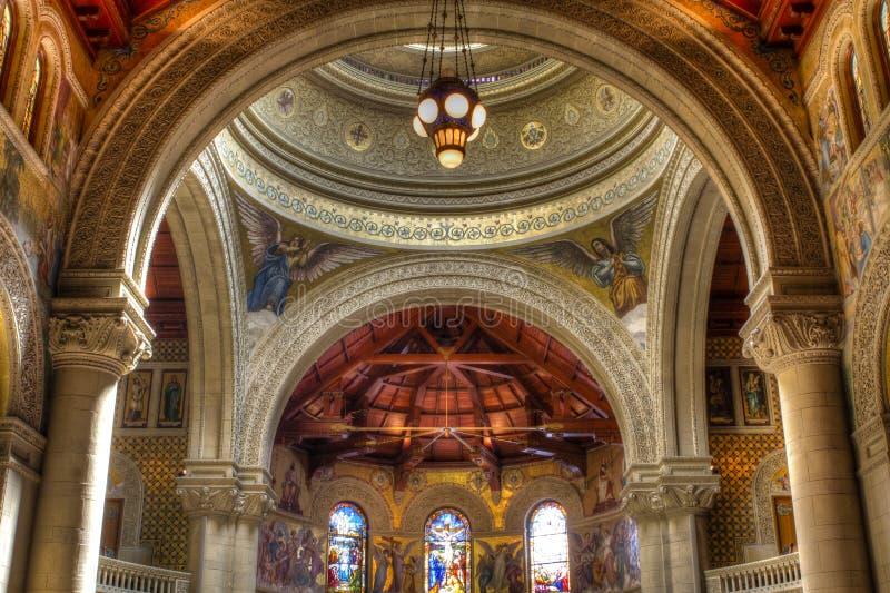 kyrkliga minnes- stanford royaltyfri foto