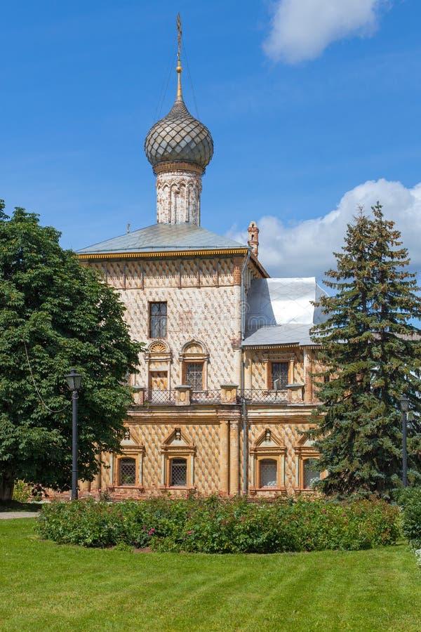 Kyrkliga Odigitrii i Rostov, Ryssland royaltyfri fotografi
