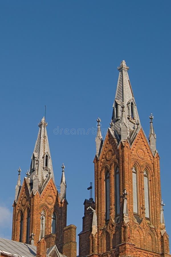 kyrkliga polerade smolensk royaltyfria bilder