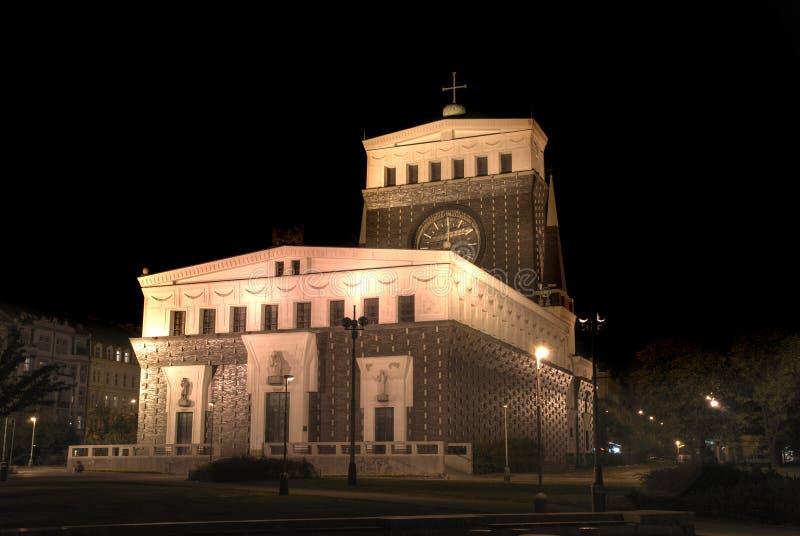 kyrkliga prague royaltyfri foto