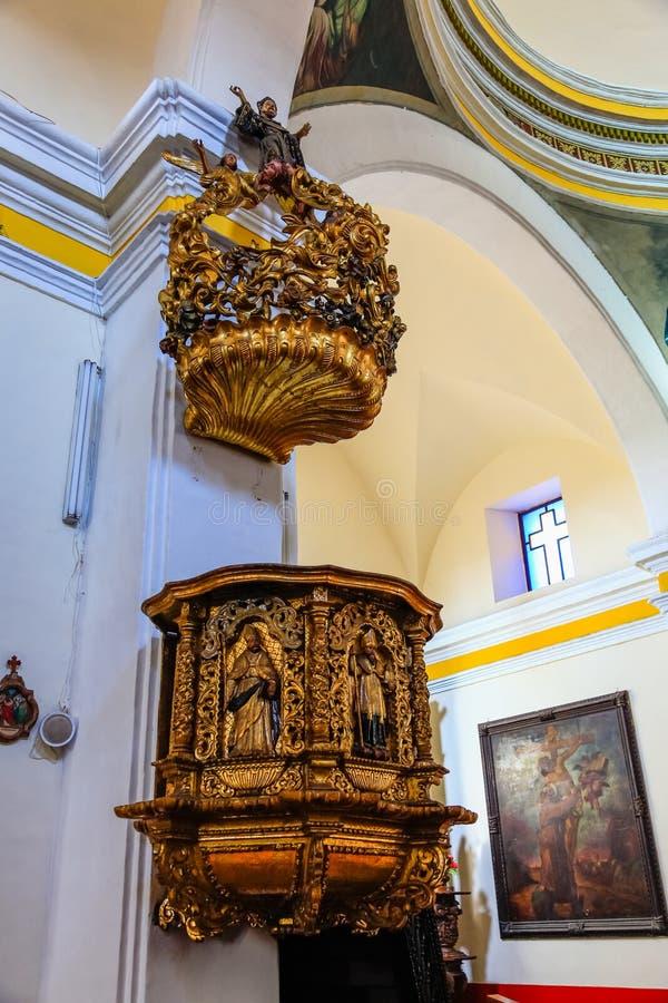 Kyrkliga San AgustiÂn royaltyfria foton