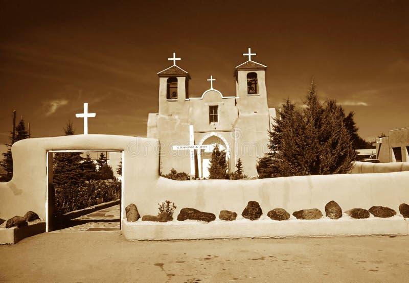 Kyrkliga San Francis de Assisi royaltyfria foton