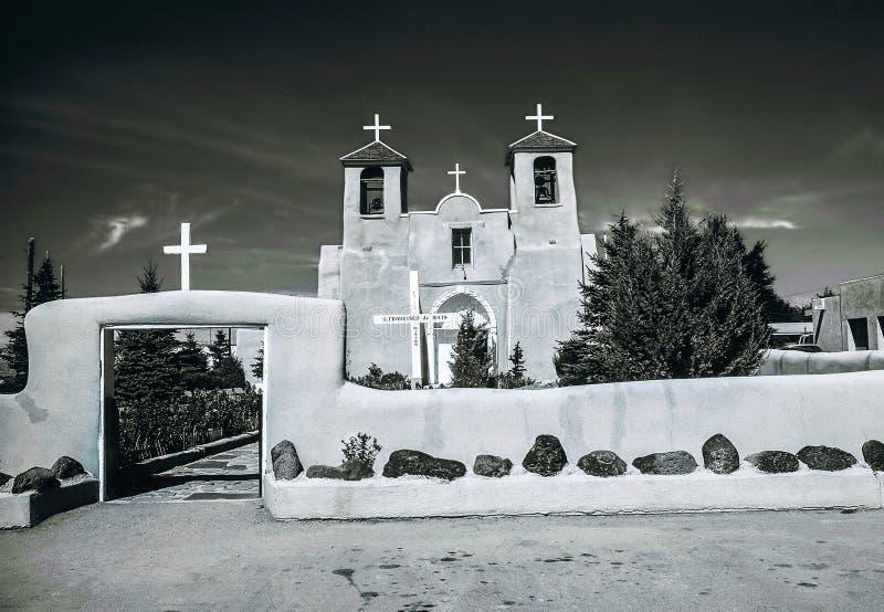 Kyrkliga San Francis de Assisi arkivfoto