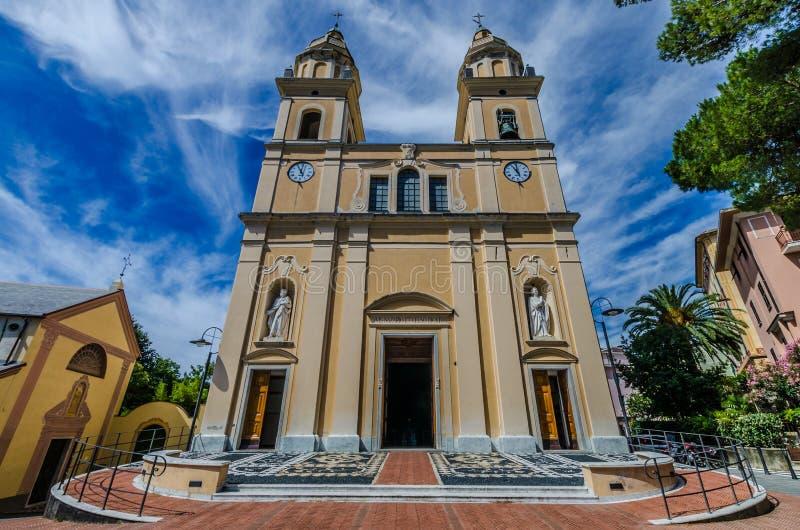 Kyrkliga Santi Nazario e Celso royaltyfri foto