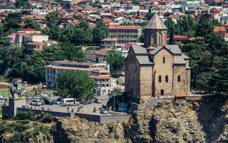 kyrkliga tbilisi royaltyfria foton
