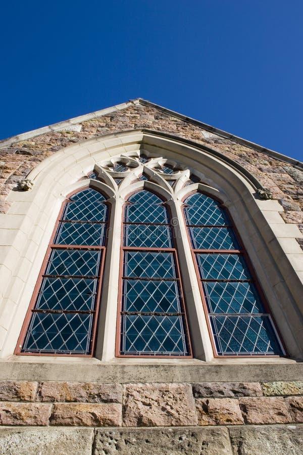 kyrkligt exponeringsglas nedfläckad window2 royaltyfria foton