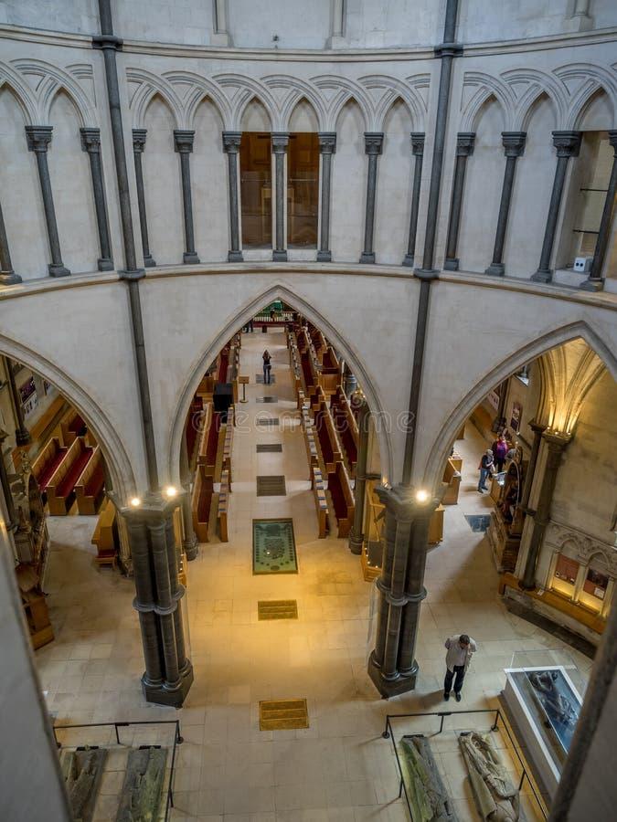 kyrkligt london tempel royaltyfria bilder