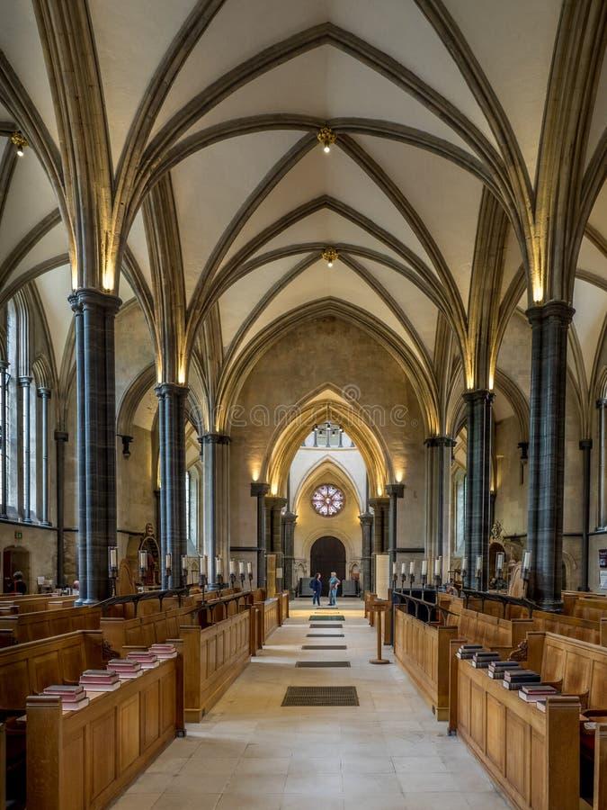 kyrkligt london tempel royaltyfri fotografi