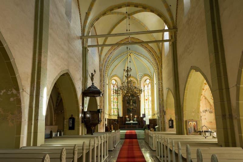 kyrkligt medeltida royaltyfri foto
