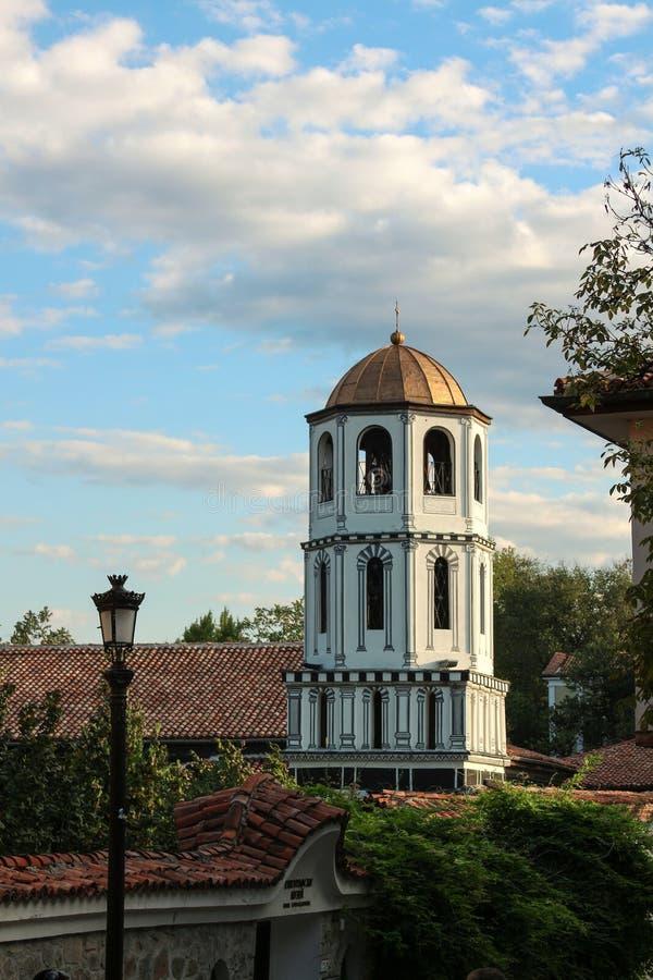 kyrkligt ortodoxt torn för klocka arkivfoton