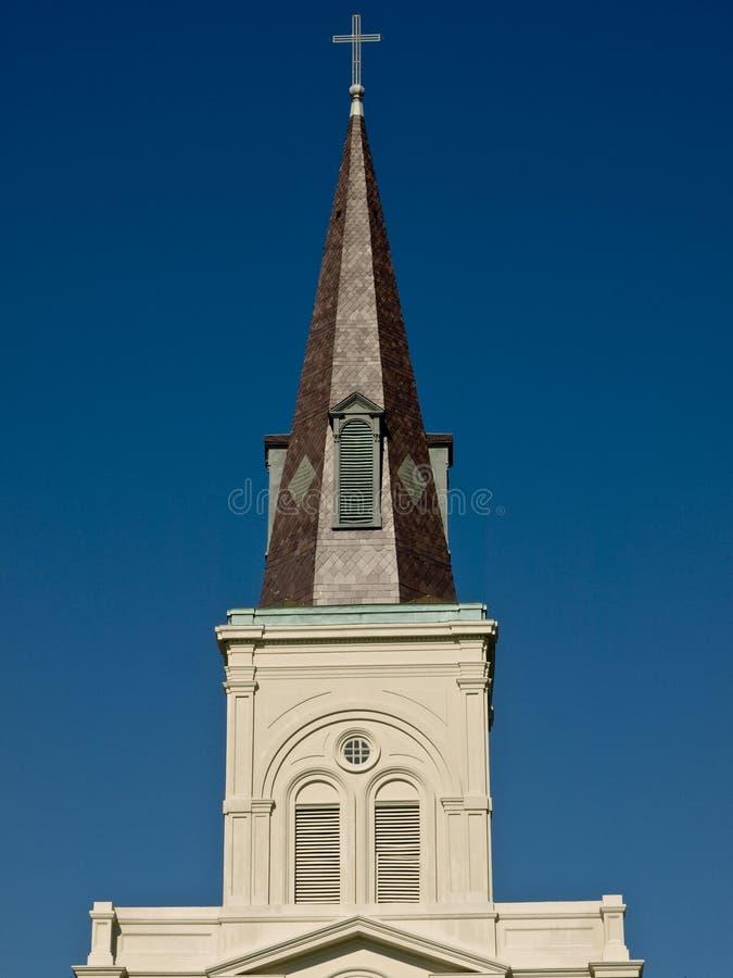 kyrkligt torn arkivbilder