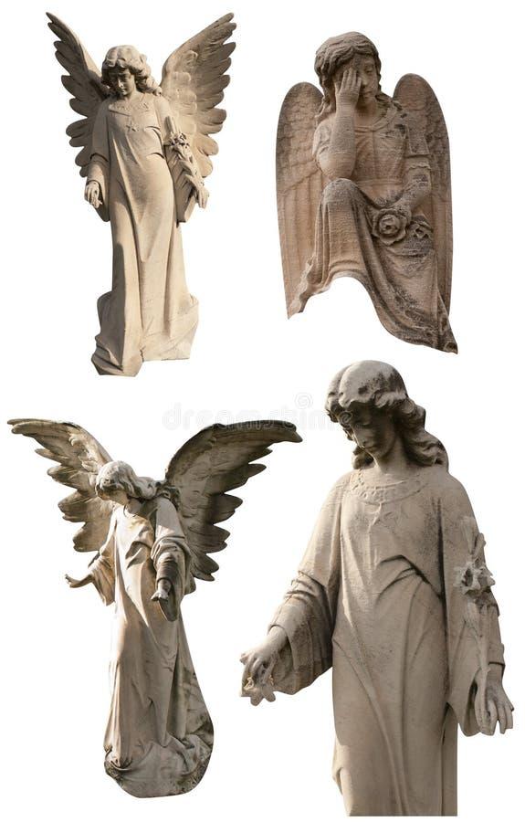 Kyrkogårdängelsamling royaltyfria bilder