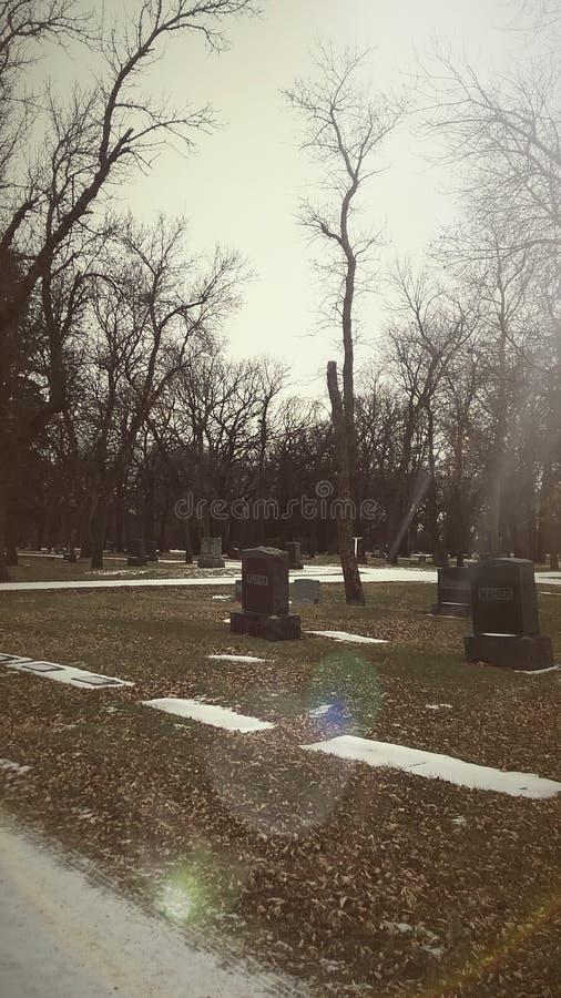 kyrkogård arkivfoto