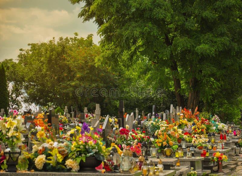 1 kyrkogård fotografering för bildbyråer
