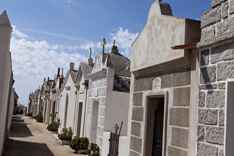 Kyrkogård av Bonifacio royaltyfri fotografi