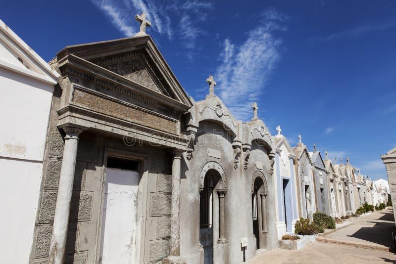 Kyrkogård av Bonifacio royaltyfria bilder