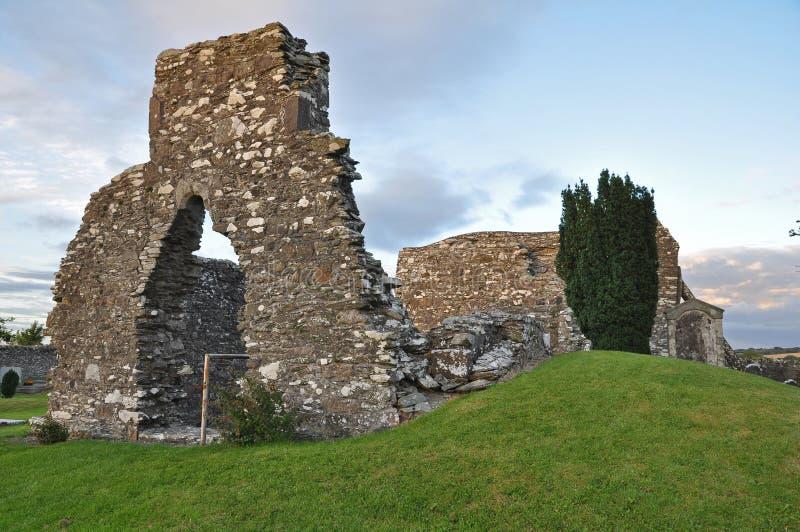 kyrkogård ireland kildare fotografering för bildbyråer