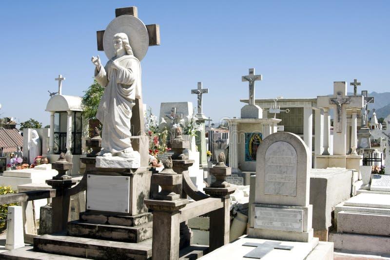 kyrkogårdmexikan arkivbild
