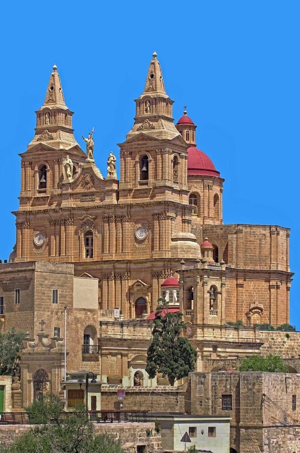 Kyrkor av Malta arkivbilder